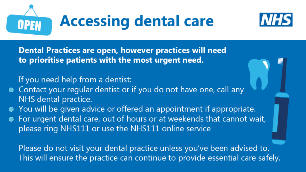 Accessing Dental Care